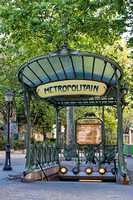 Abbesses Metro Station (Montmartre)