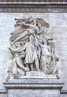 Le Triomphe de 1810 (The Triumph of 1810) - Sculpture by Jean-Pierre Cortot