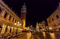 St. Mark's Square (Piazza San Marco) by night
