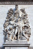 La Paix de 1815 (Peace of 1815) - Sculpture by Antoine Etex